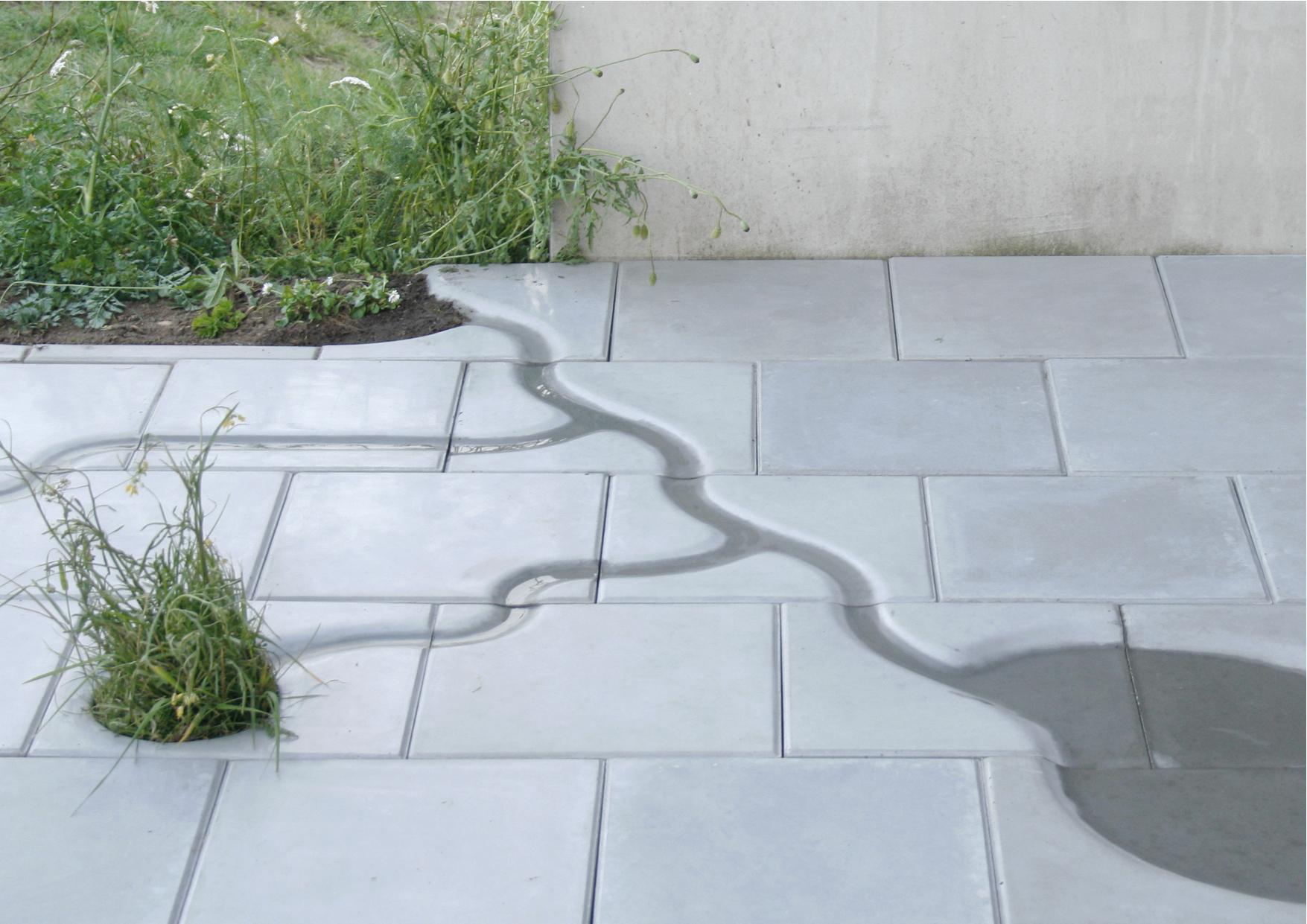 watertegels tuin